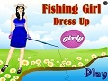 Гульня Fishing Girl онлайн - гульні онлайн