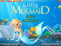 Гульня Little Mermaid Dress Up  онлайн - гульні онлайн
