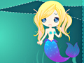 Гульня Cute Mermaid онлайн - гульні онлайн